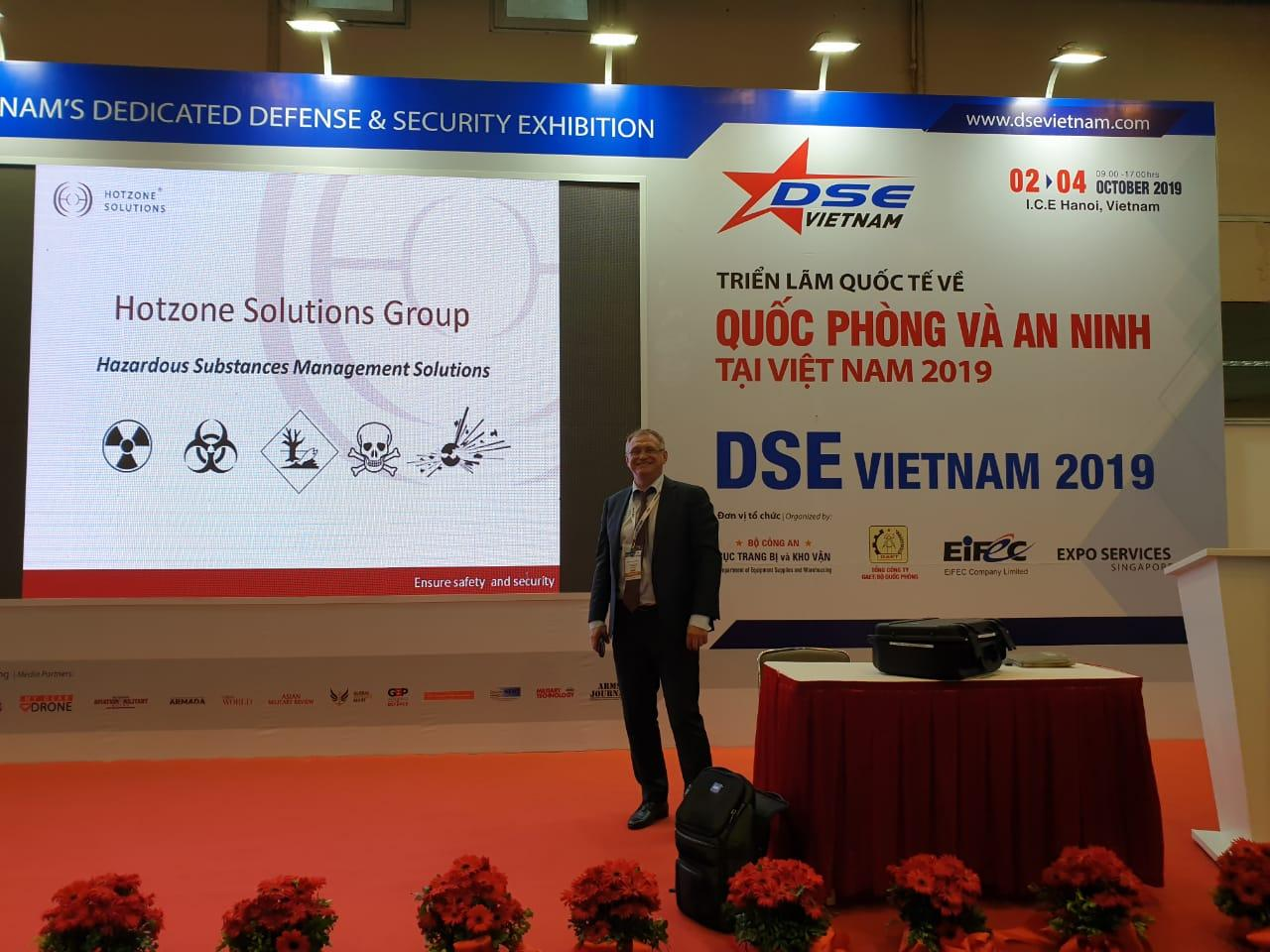 Hotzone Solutions Group at DSE Hanoi Oct 2019